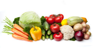 Group Of Vegetables Stock Photo