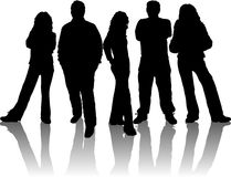 Free Group Of Young People Stock Photography - 352702