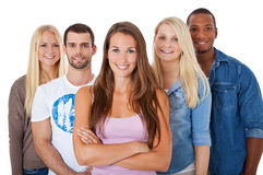 Free Group Of Young People Stock Image - 47038201