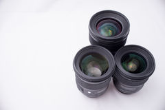 Group ofDSLR Lens royalty free stock images
