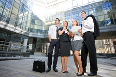 Group of office workers Stock Photo
