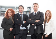 Group of office workers Stock Images