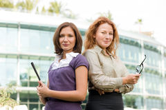 Group of office workers outdoor Stock Photography