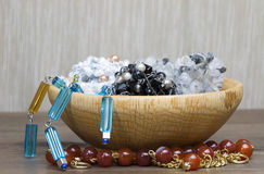 A group ofl jewelry Royalty Free Stock Image
