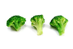 Group og green broccoli Stock Images