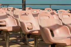 Group og plastic seats Royalty Free Stock Photography