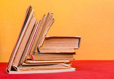 Group of old books Royalty Free Stock Images