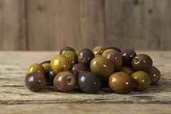 Group of olives Stock Image