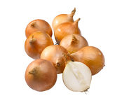 Group of onions Stock Photography