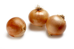 Group of onions Royalty Free Stock Photos