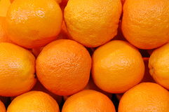 Group of orange. A group of orange - pyramid form on the market royalty free stock photo