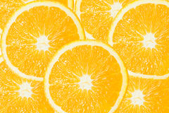 Group of Orange Slice Royalty Free Stock Images