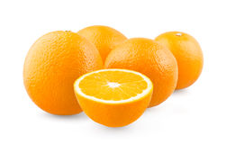 Group of oranges Stock Photos