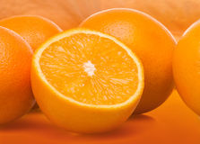 Group of oranges Royalty Free Stock Image
