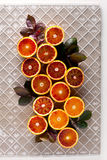Group of oranges fruit Stock Photography