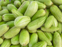 Group of organic gherkin Royalty Free Stock Images