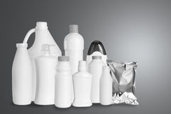 Group of packaging product Royalty Free Stock Images