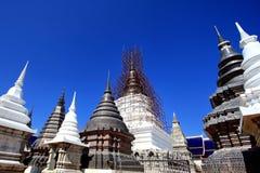 A group of pagoda Stock Image