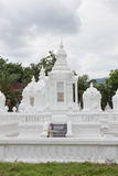 Group of pagoda in Wat-Suan-Dok. famous temple in Chiang Mai, Th Royalty Free Stock Photo
