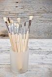 Group of paintbrushes Royalty Free Stock Photo
