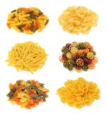 A group of pasta Royalty Free Stock Photo