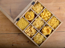 Group of pasta Royalty Free Stock Photography
