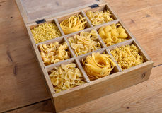 Group of pasta Royalty Free Stock Image