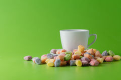 Group of pastel candy Stock Photo