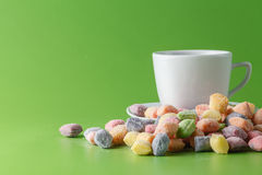 Group of pastel candy Stock Image