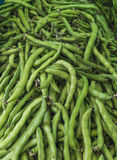 The group of pea in the fresh market Royalty Free Stock Images
