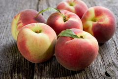Group of peach Royalty Free Stock Images