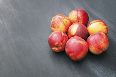 Group of Peaches Royalty Free Stock Image