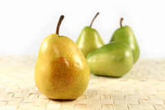 Group of pears Stock Image