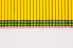 Group of Pencil Erasers Royalty Free Stock Image