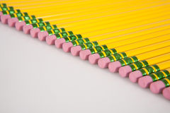 Group of Pencil Erasers Royalty Free Stock Photography
