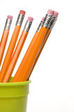 Group of pencil in holder Royalty Free Stock Photo