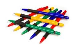 Group of pens Stock Photos