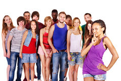 Group people Stock Photography