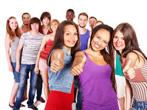Group people. Royalty Free Stock Photos