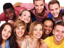 Group people. Stock Photography