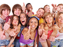 Group people Stock Images