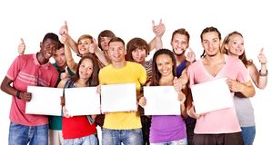 Group people. Stock Photo