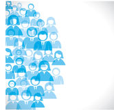 Group of people background Royalty Free Stock Photos