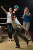 Group Of People Bowling Stock Photos