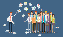 Group people business communication Royalty Free Stock Images