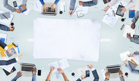 Group of People and Business Concepts stock image