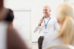 Group of people at business conference Royalty Free Stock Photos