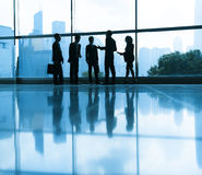 Group of People with Business Meeting Royalty Free Stock Images