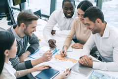 Group of people business meeting team work concept Stock Photos