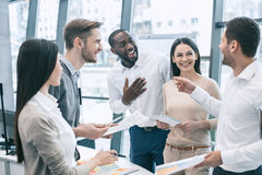 Group of people business meeting team work concept Royalty Free Stock Image